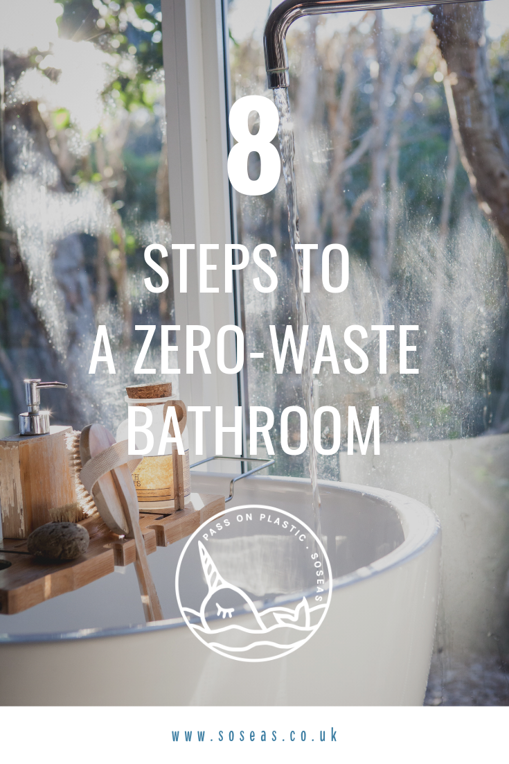 8 steps to a zero-waste bathroom