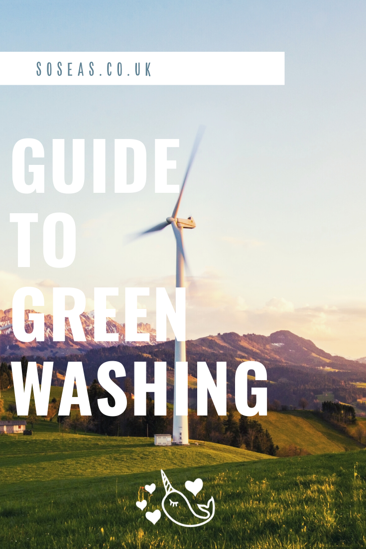 Soseas guide to greenwashing
