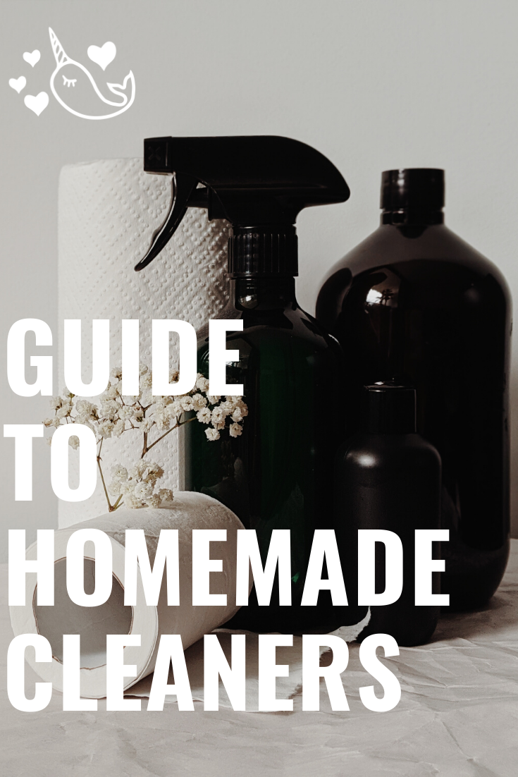 Guide to homemade cleaners