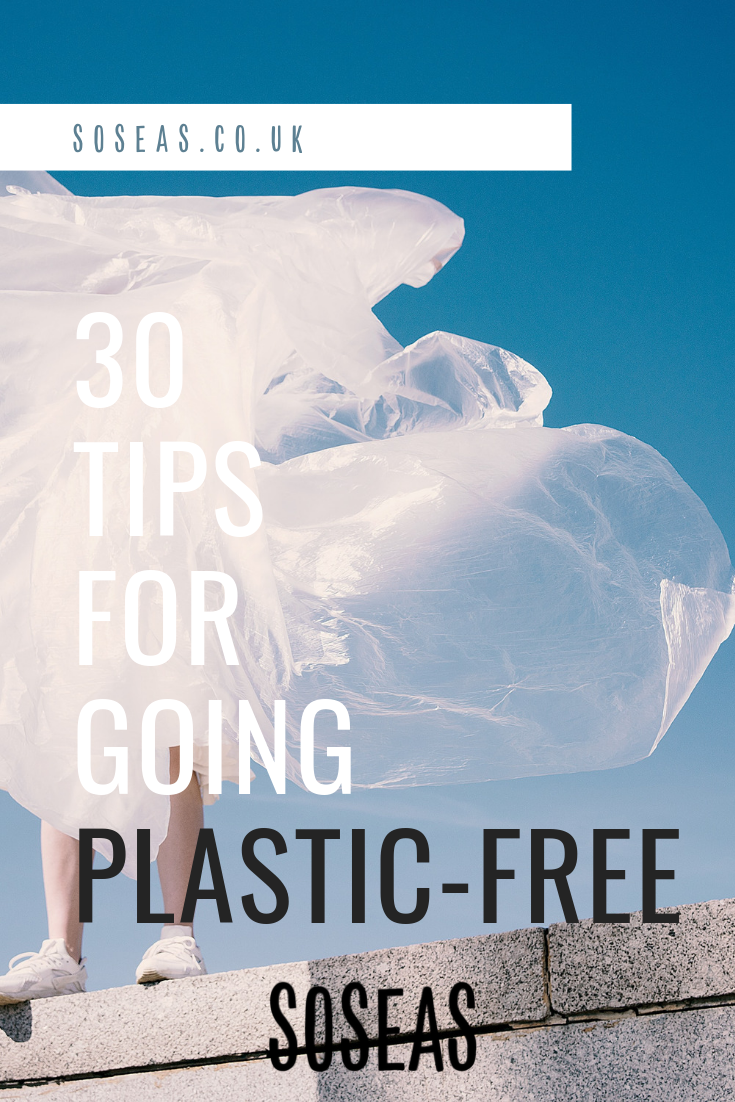 Soseas 30 tips to going plastic-free