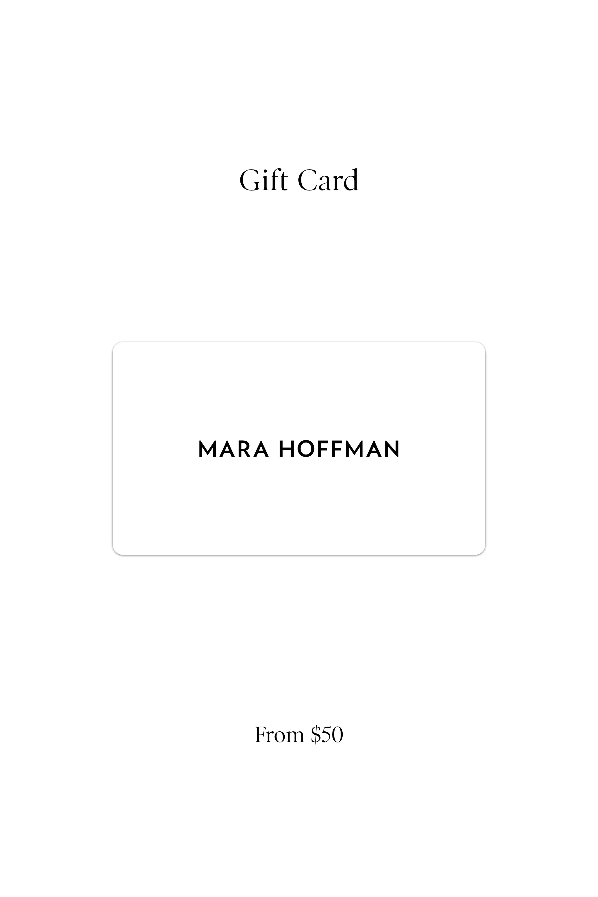 Online gift cards, shop for endless possibilities (in white)
