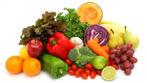 Display of Fruits & Vegetables - Mixed