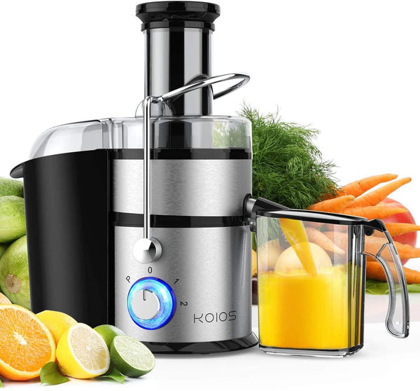 KOIOS Centrifugal Juicer Machine with Big Feed Tube - 1