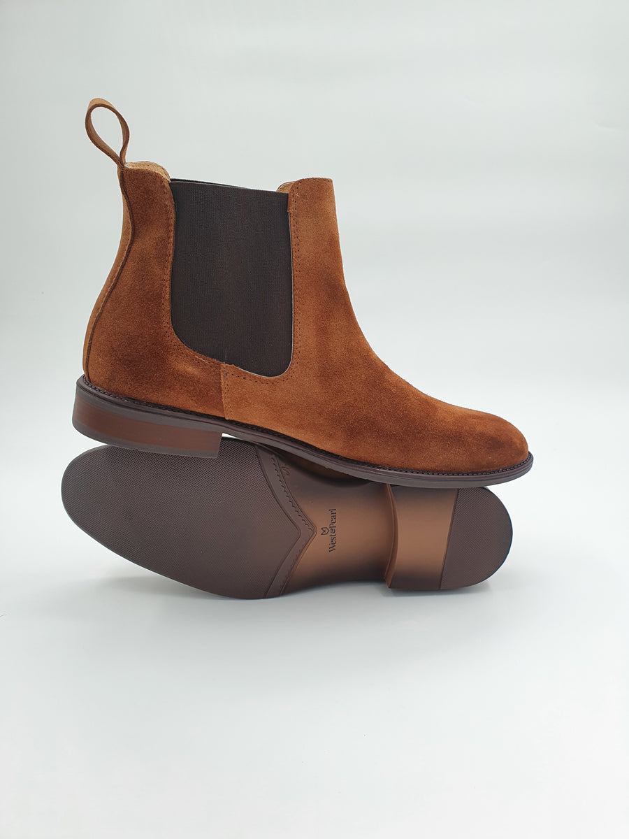 Chelsea Boot Brown Suede (2021 collection)