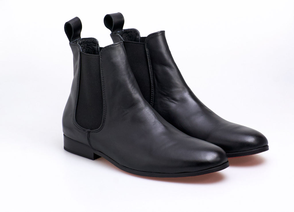 Chelsea Boot Black Leather