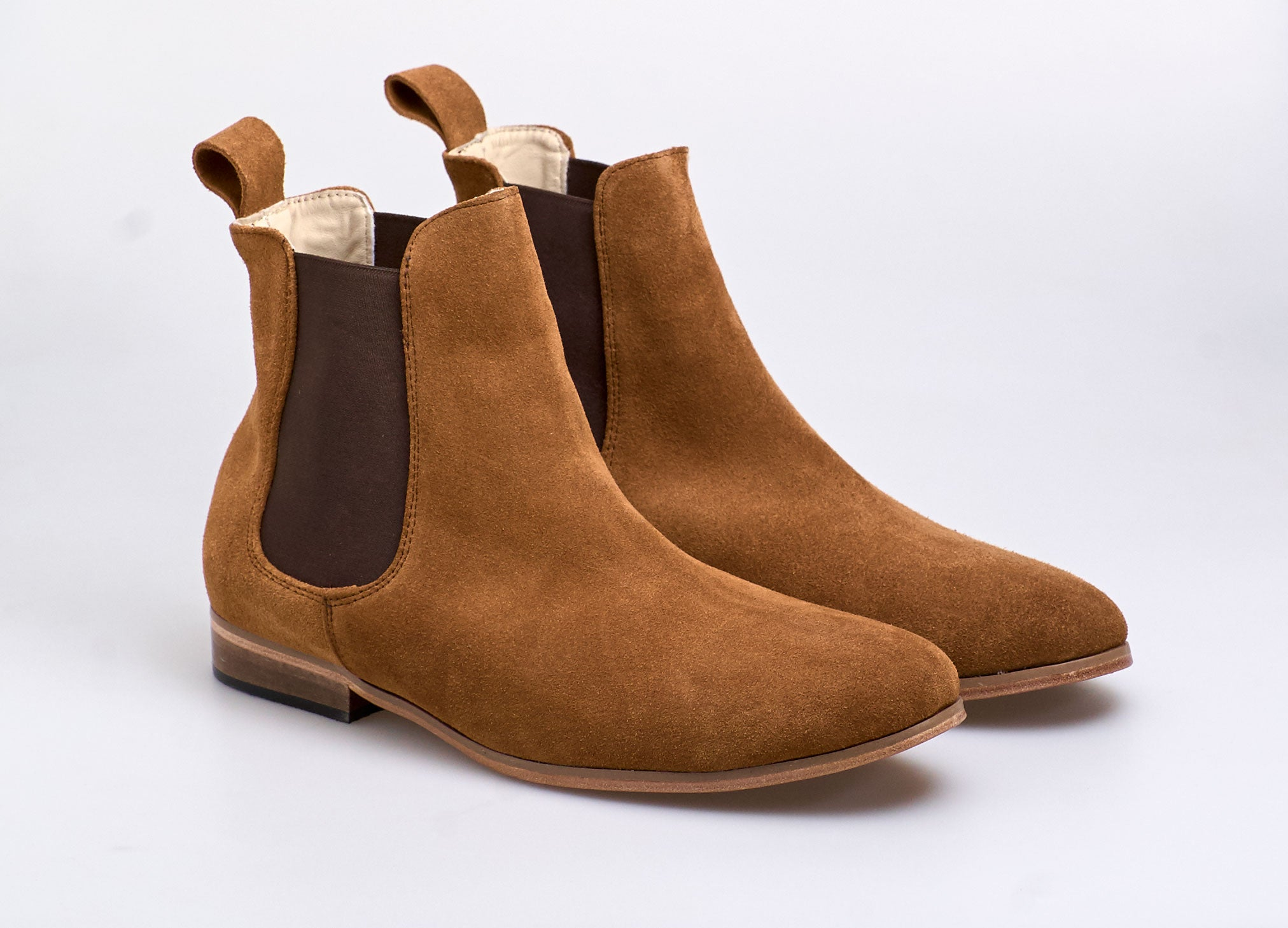 Chelsea Boot Suede Black