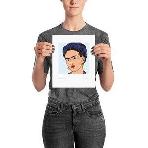 Frida Knows Best Premium Art Print
