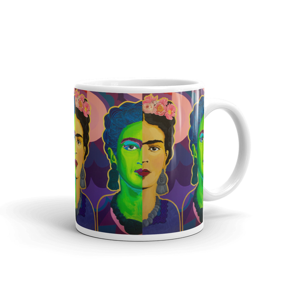 Frida Split in Two Mug