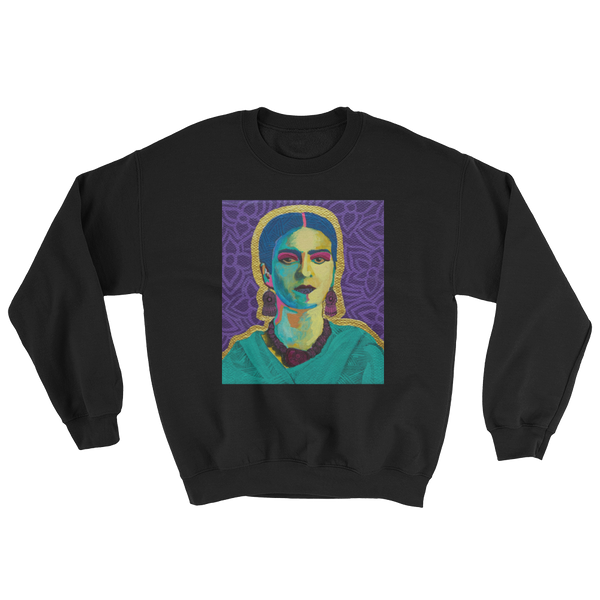 Purple Flowers Sweatshirt