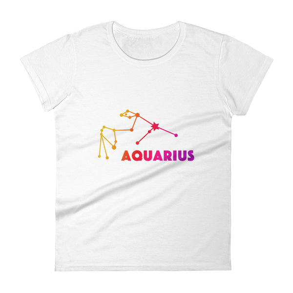 Pink Ombre Women's short sleeve t-shirt - Aquarius