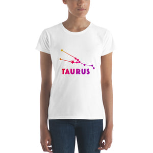 Pink Ombre Women's short sleeve t-shirt - Taurus