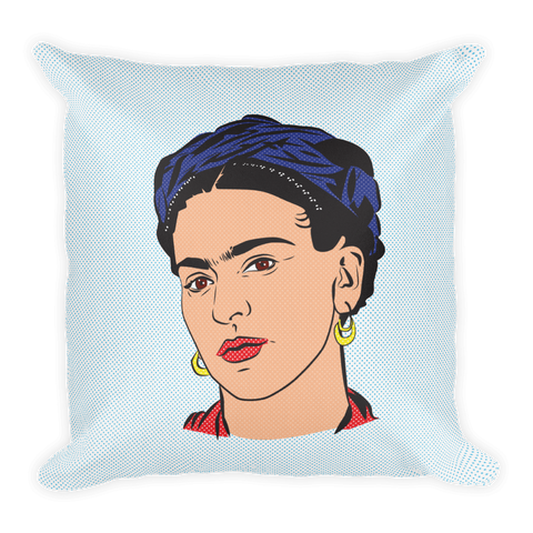 Frida Knows Best Throw Pillow