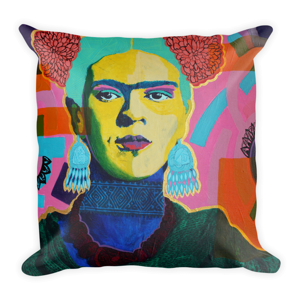 Marigold Frida Premium Throw Pillow
