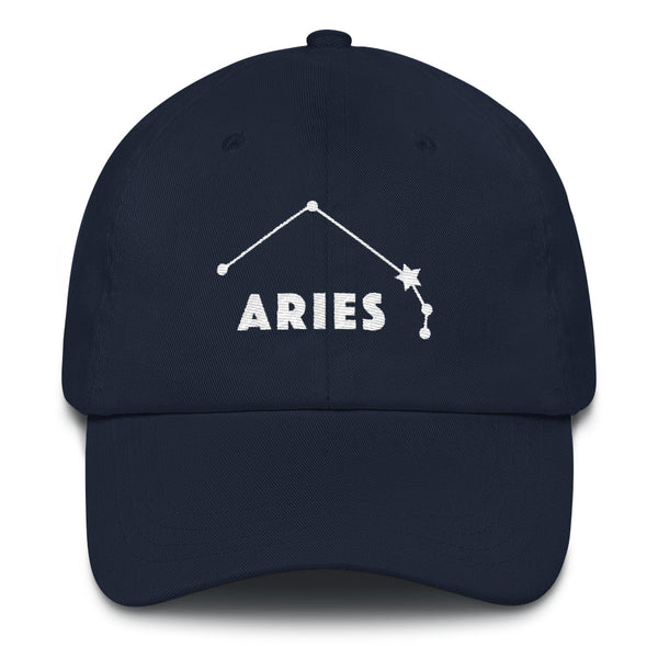 Constellation Baseball Cap with Curved Rim - Aries
