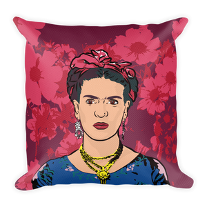 Frida's Flowers Premium Throw Pillow