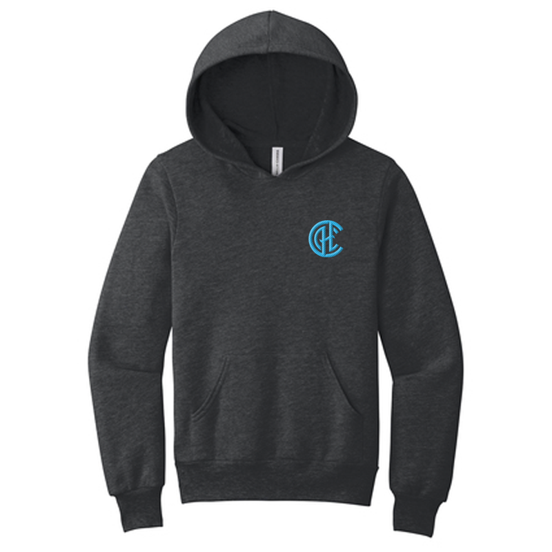 CHC Youth Hoodie - Dark Heather Grey