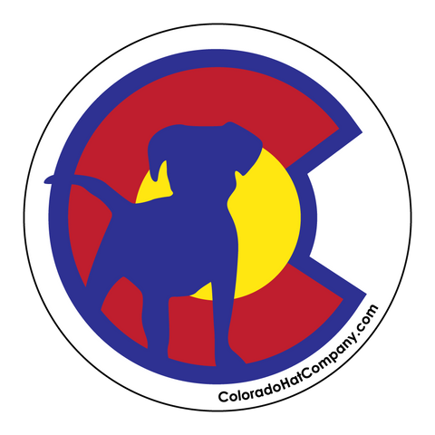 Colorado C With Puppy Sticker