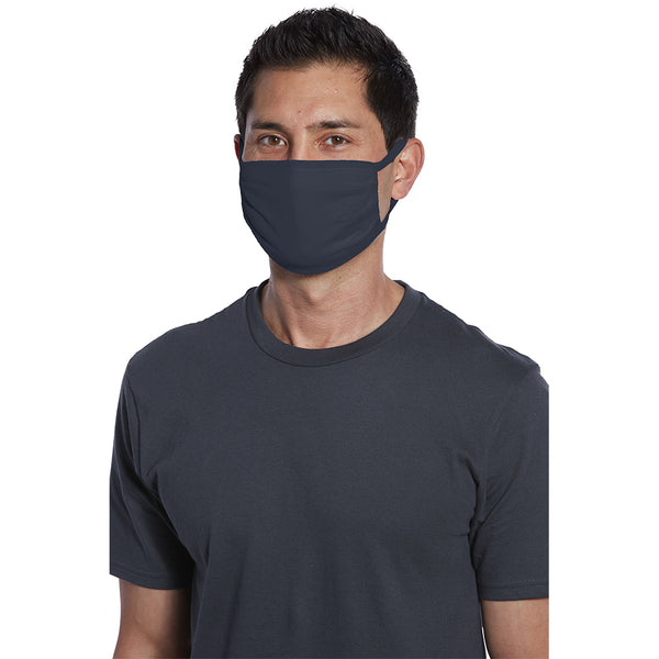 Navy Blue Fabric Face Mask - non-decorated (bag of 5 masks)