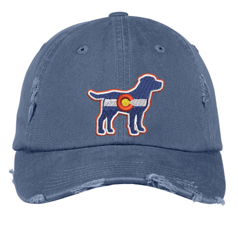 Colorado Lab Distressed Cap - Scottland Blue