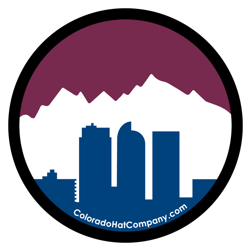 Denver Skyline Sticker - Avalanche