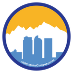 Denver Skyline Sticker - Nuggets