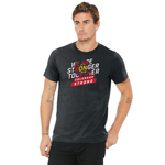 Stronger Together - Colorado Stacked Type Unisex T-shirt - Dark Heather Grey