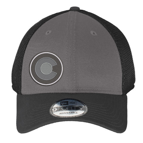 Grey Colorado C Snap Back Trucker Hat - Charcoal & Black