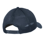 Grey Colorado Flag Snap Back Trucker Hat -Deep Navy Grey and Black