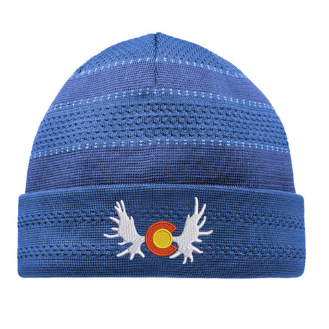 Colorado Moose Beanie - Royal