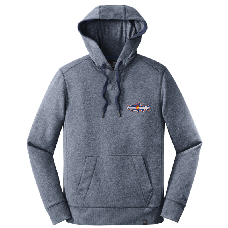 Colorado Trout Flag Hoodie - True Navy Twist