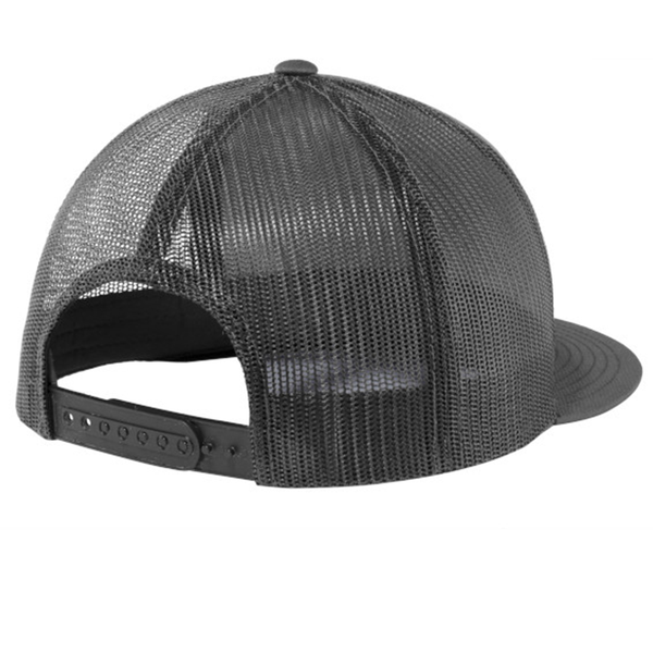 Tone on Tone Colorado C - Flat Bill Hat - Graphite