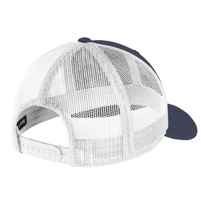 Colorado Fish Trucker Hat - Navy/White Mesh - Richardson 112