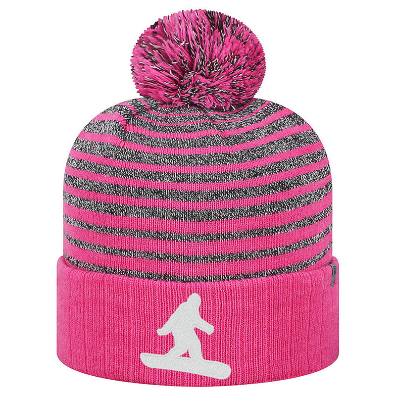 Bigfoot Snowboard Beanie - Wildberry