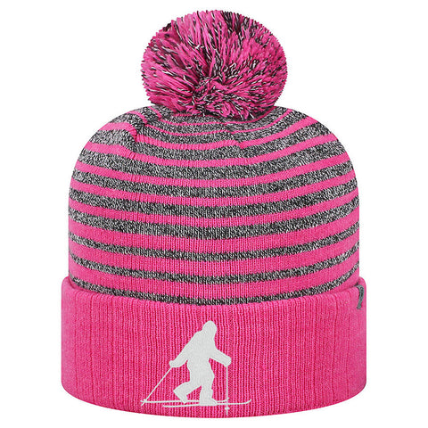 Bigfoot Ski Beanie - Wildberry