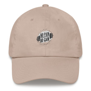 No Pain No Gain Dad Hat