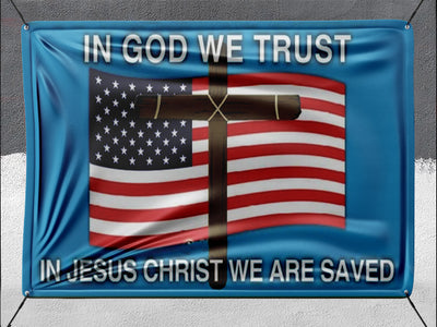 In God We Trust **BANNER**