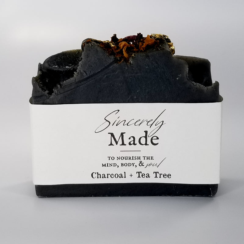 Charcoal + Tea Tree Bath Soap