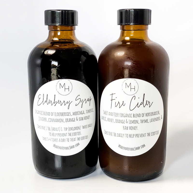 Elderberry & Fire Cider Bundle