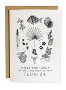 Florida Field Guide Greeting Card