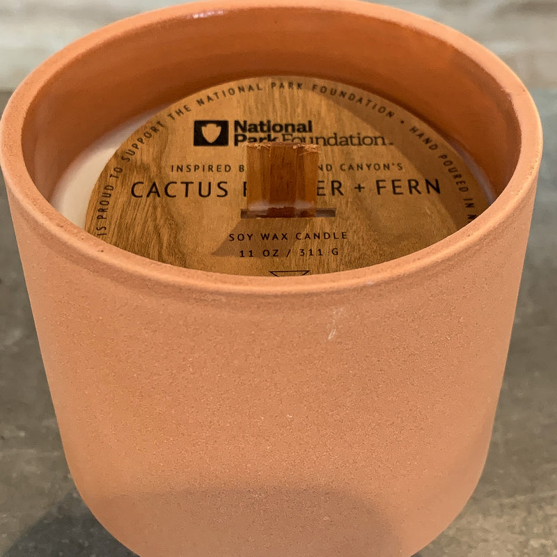 Cactus Flower National Parks Candle