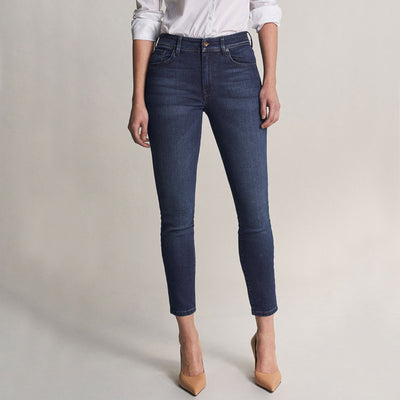 Salsa Bliss Capri Jeans in Dark Rinse