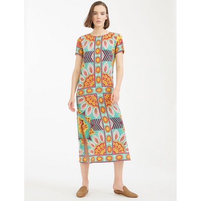 Weekend Silk Crepe de Chine Dress