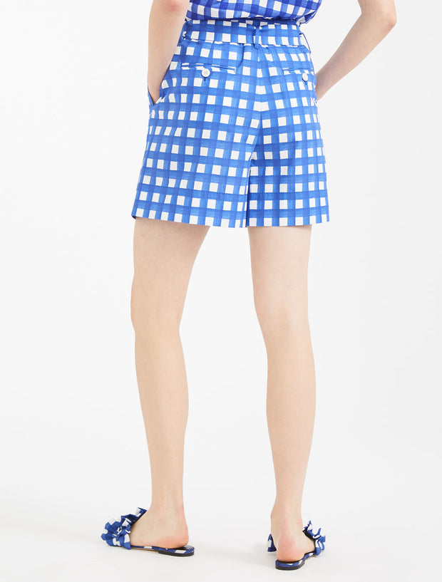 Weekend Cotton Poplin Shorts