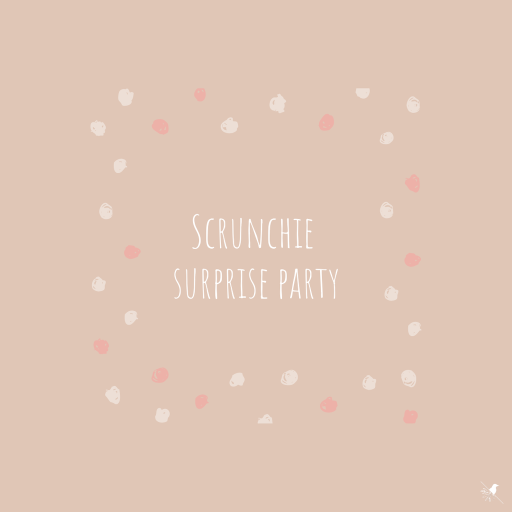 A Scrunchie Surprise Party