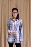 Two Way Stripe Shirt