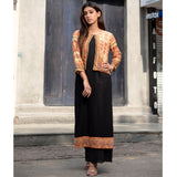 Printed Shrug and Kurta Set