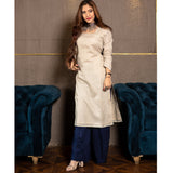 Square Neck Kurta and Palazzo Set