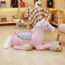 Load image into Gallery viewer, 1m Jumbo White Unicorn Plush Toys Giant Stuffed Animal Soft Doll Home Decor Children Photo Props