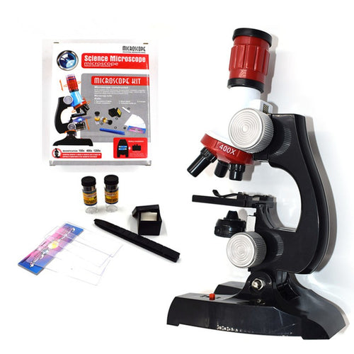 Child Biological Science And Education Microscope