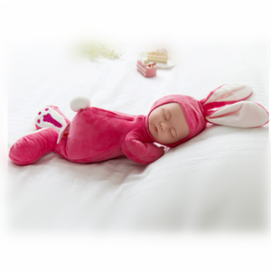Soft Glue Baby Simulation Sleep Comfort Baby